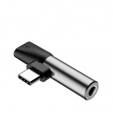 Baseus L41 Type C (input) for Type C female connectors +3.5mm female connector adapter