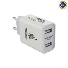 Teutons Wall Adapter With Micro USB DATA Cable Quick Charge 3.0 White
