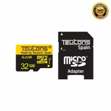 Teutons Micro SD Card With Adapter 32GB Brno-U1 SDHC