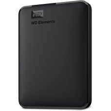 Western Digital Elements 1TB USB 3.0 Black External HDD