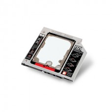 Teutons DVD to HDD 2nd SSD/HDD Caddy SATA Drive Enclosures