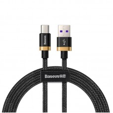 Baseus Purple Gold Red HW flash charge cable USB For Type-C 40W 1m Gold Black