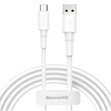 Baseus Mini White Cable USB for Type C 3A 1m White