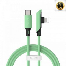 Baseus Colourful Elbow Type-C to iP Cable PD 18W 1.2m Green