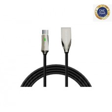 Teutons Glowworm 4ft (1.2M) Durable Braided Type-C Cable
